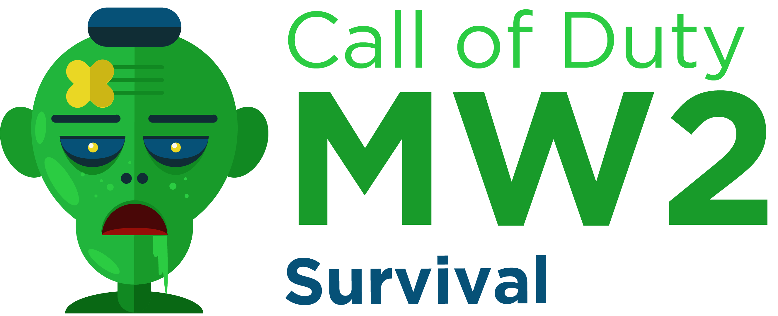 Call of Duty Mw2 Survival Mod Logo by P!X