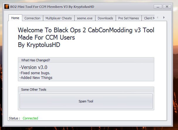 Release - BO2 Mini RTM v3 Tool By Me | CabConModding
