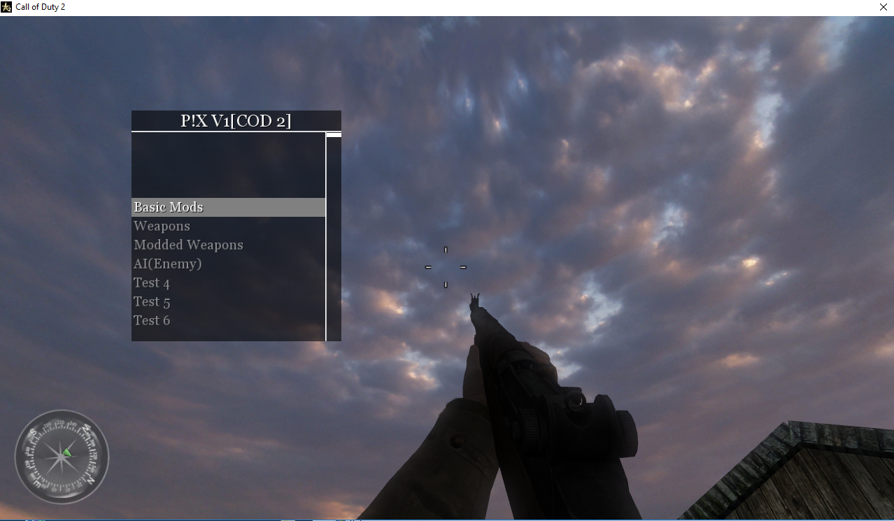 Release - Call of Duty 2: Singleplayer Mod Menu P!X V1(COD 2 SP) +