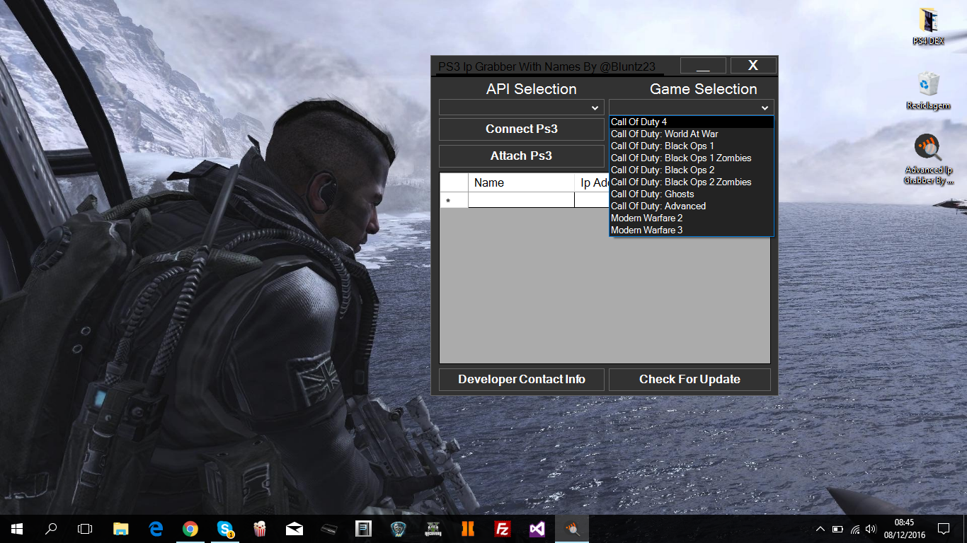 Release - Free IP Grabber With Names [PS3 DEX/CEX] [ALL CODS